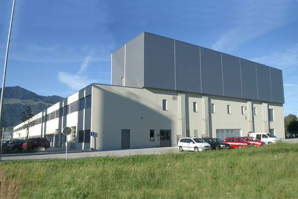 Neubau Produktionshalle + Bürobau
